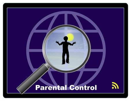 Monitor the internet usage of children