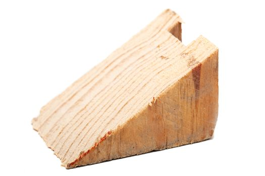 wooden beam triangle