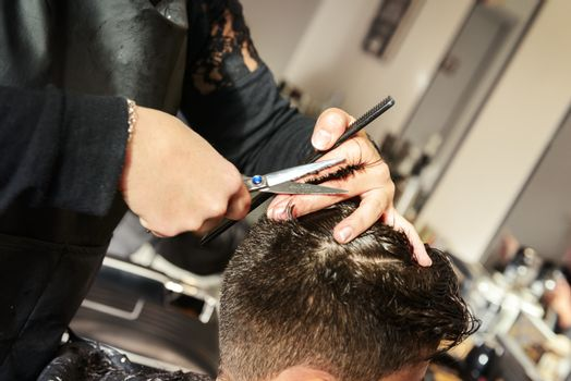 Fashion hairdresser