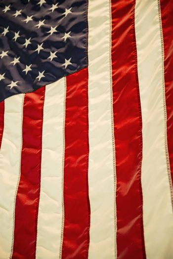 USA American flag background texture., stars and stripes