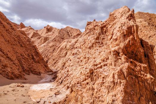 Valle de la muerte in San Pedro de Atacama, Chile