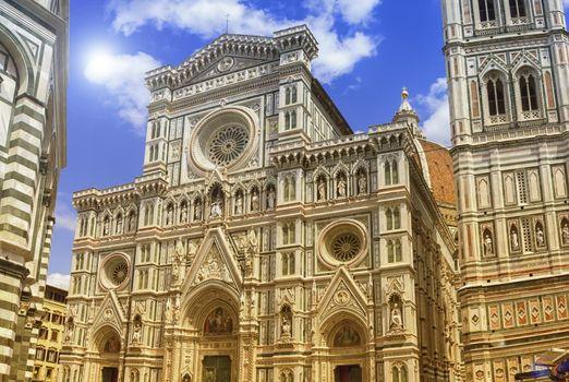 Cattedrale di Santa Maria del Fiore or Il Duomo di Firenze, Italia