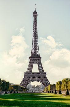 Eiffel Tower Sepia