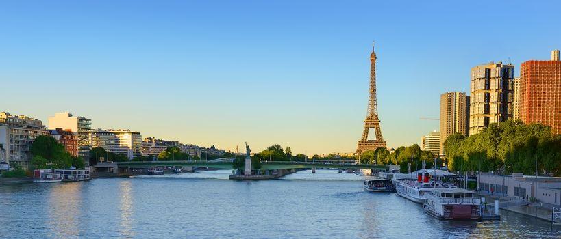 Panoramic view Paris