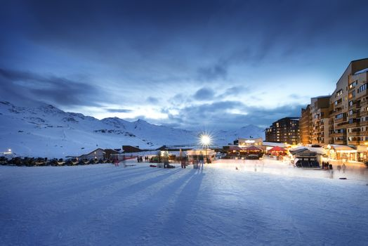 Val Thorens in France