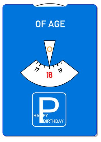 Of age