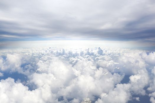 Heaven concept background.Sky background