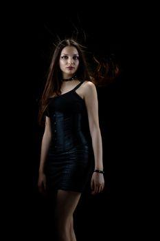gothic girl portrait