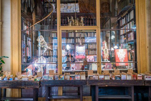 Bookshop in Paris galerie Vivienne