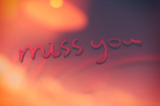 Miss you background