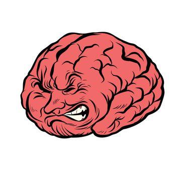 brain character pain