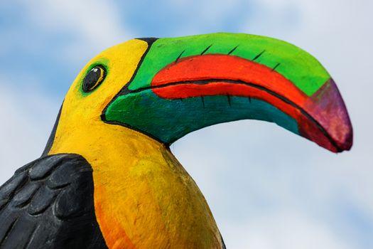 Wooden toucan