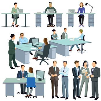 Cooperation in the office and company