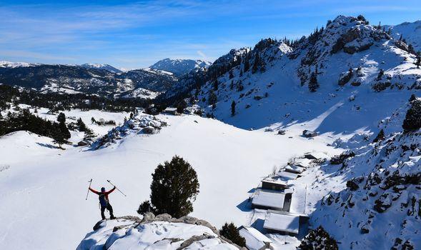 Winter season highland homes and exploration trip