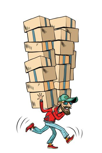 Express fast shipping, lot of cargo