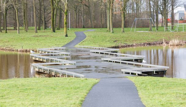 Unique bridge in the Netherlands
