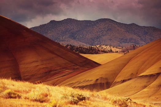Colorfull hills