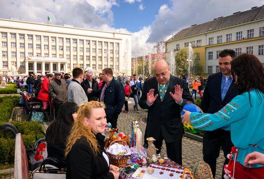 Celebrating Orthodox Easter in Uzhgorod