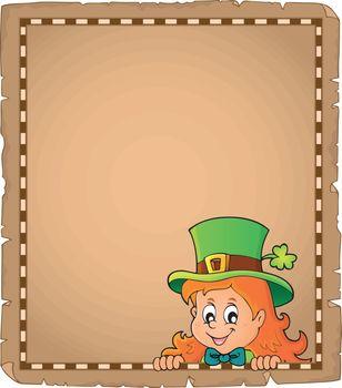 Lurking leprechaun girl parchment 1