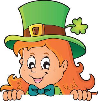 Lurking leprechaun girl theme 1