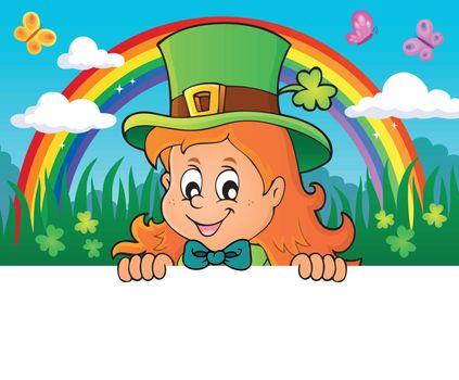 Lurking leprechaun girl theme 2