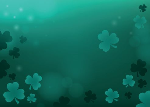 Three leaf clover abstract background 4 - eps10 vector illustration.