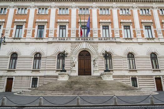 Palazzo Madama, the Italian Senate located in Rome, Italy