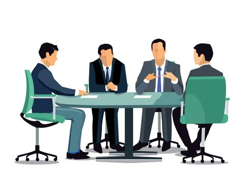 Discussion in the meeting