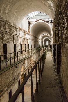 Historic Eastern State Penitentiary in Philadelphia, Pennsylvania
