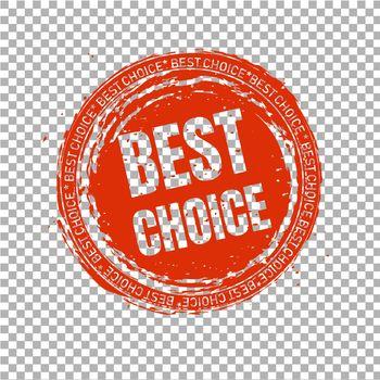 Best Choice Stamp Transparent Background