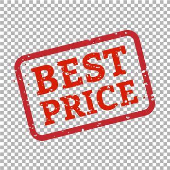 Best Price Stamp Sign Transparent Background