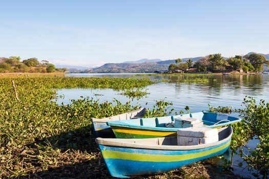 Boat in El Salvador