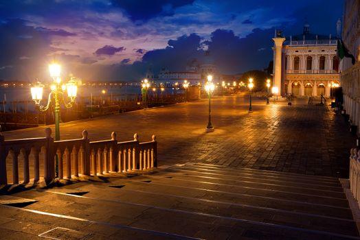 San Marco at night