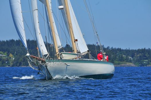 Classic Northwest Schooner Martha in British Columbia
