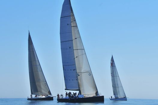 Sailboat Racing in the Pacific Northwest
