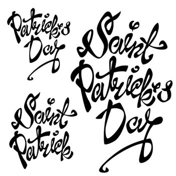 St. Patrick s Day lettering