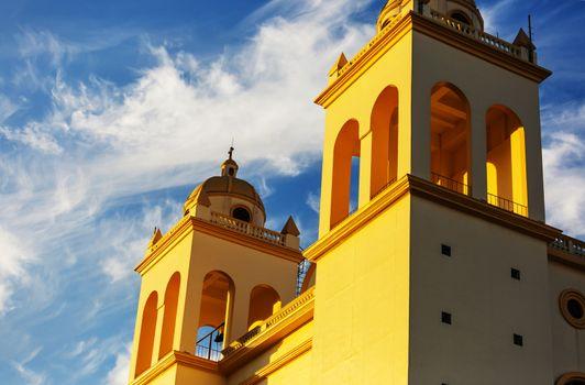 Colonial architecture in El Salvador