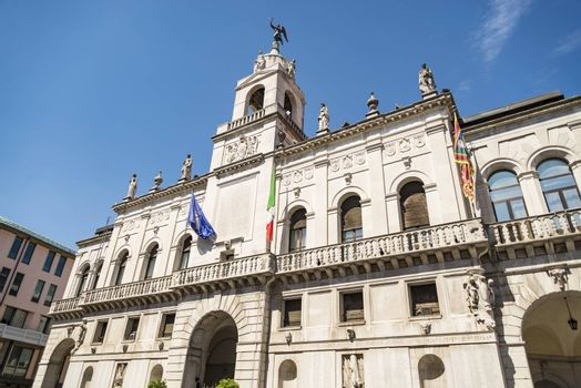 northern Italy, Padua university. Popular touristic european destination in Padua