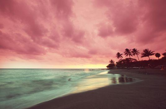 Amazing hawaiian beach