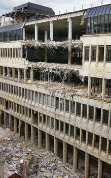Destruction of an office building