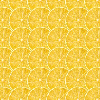 Yellow lemon fruit slices texture, real photo food background