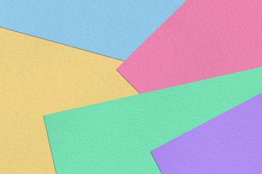Pastel colorful paper sheet background