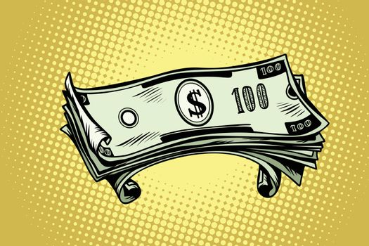 money hundred dollar banknotes