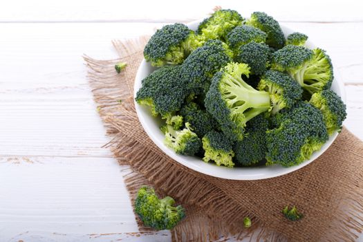 Healthy Organic Broccoli