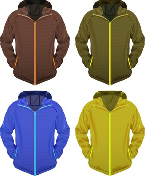 Four jackets set