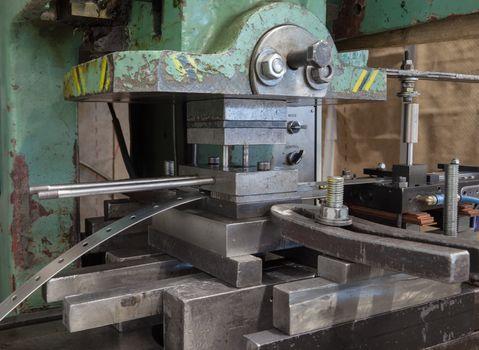 Old Punching Hydraulic Press