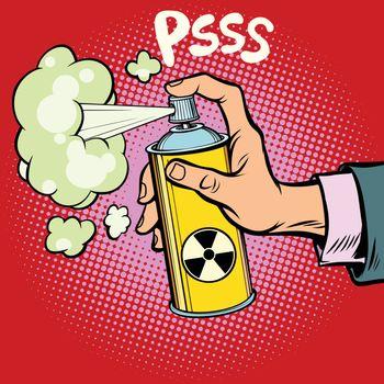 attack diversion radioactive waste gas