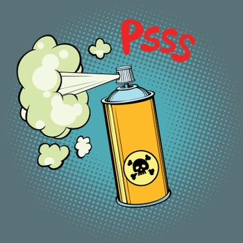 toxic gas chemical waste