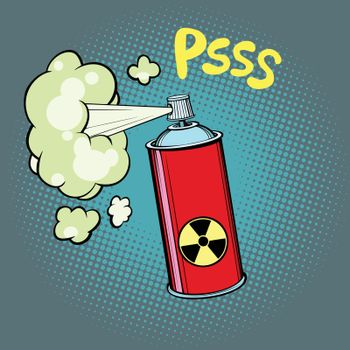 radioactive waste gas