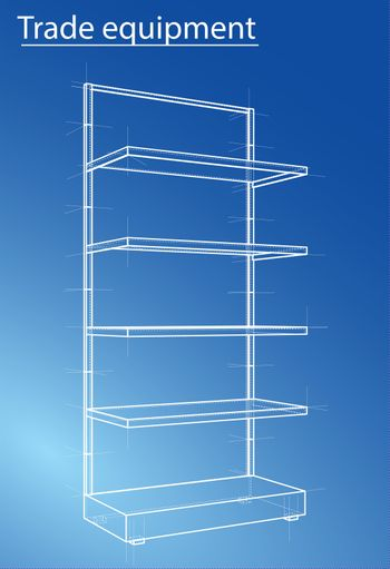 Wireframe Retail Shelves